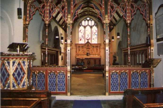 Chancel Screen & Pulpit - St Andrews Clewer - Windsor